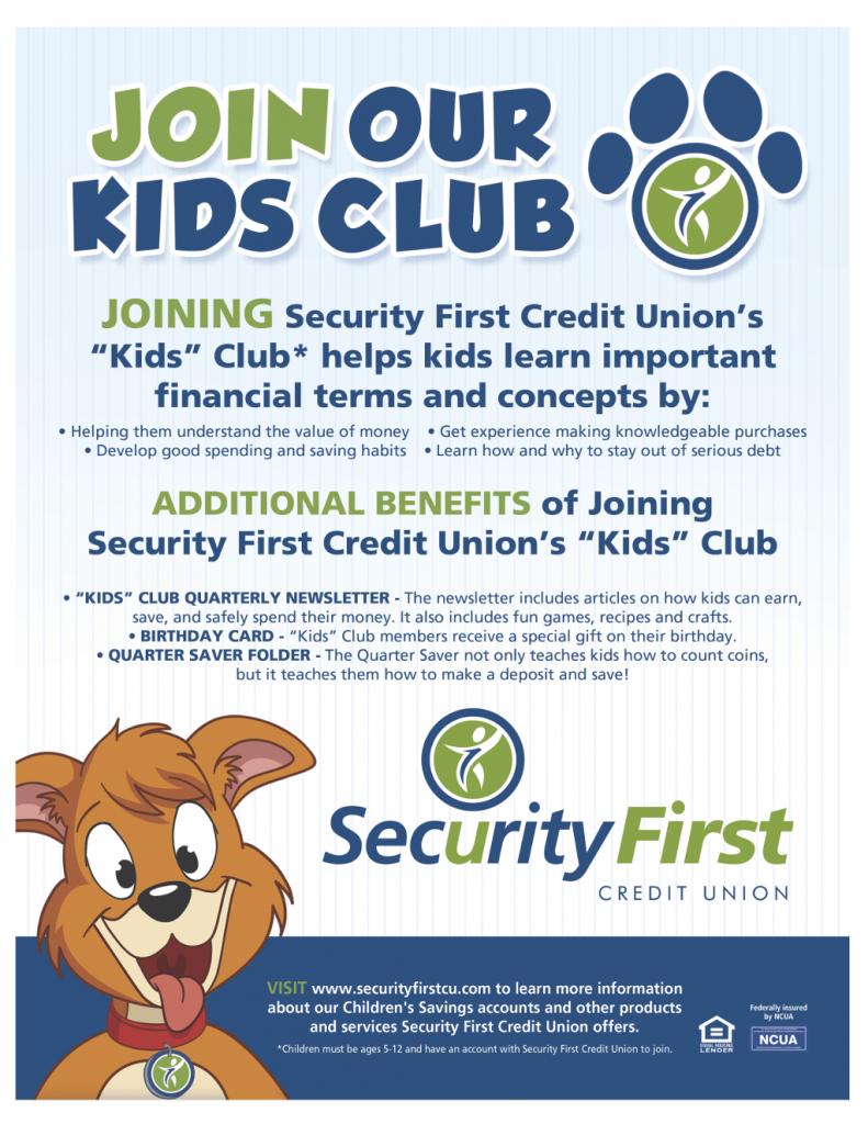 Kids Club- Benefits